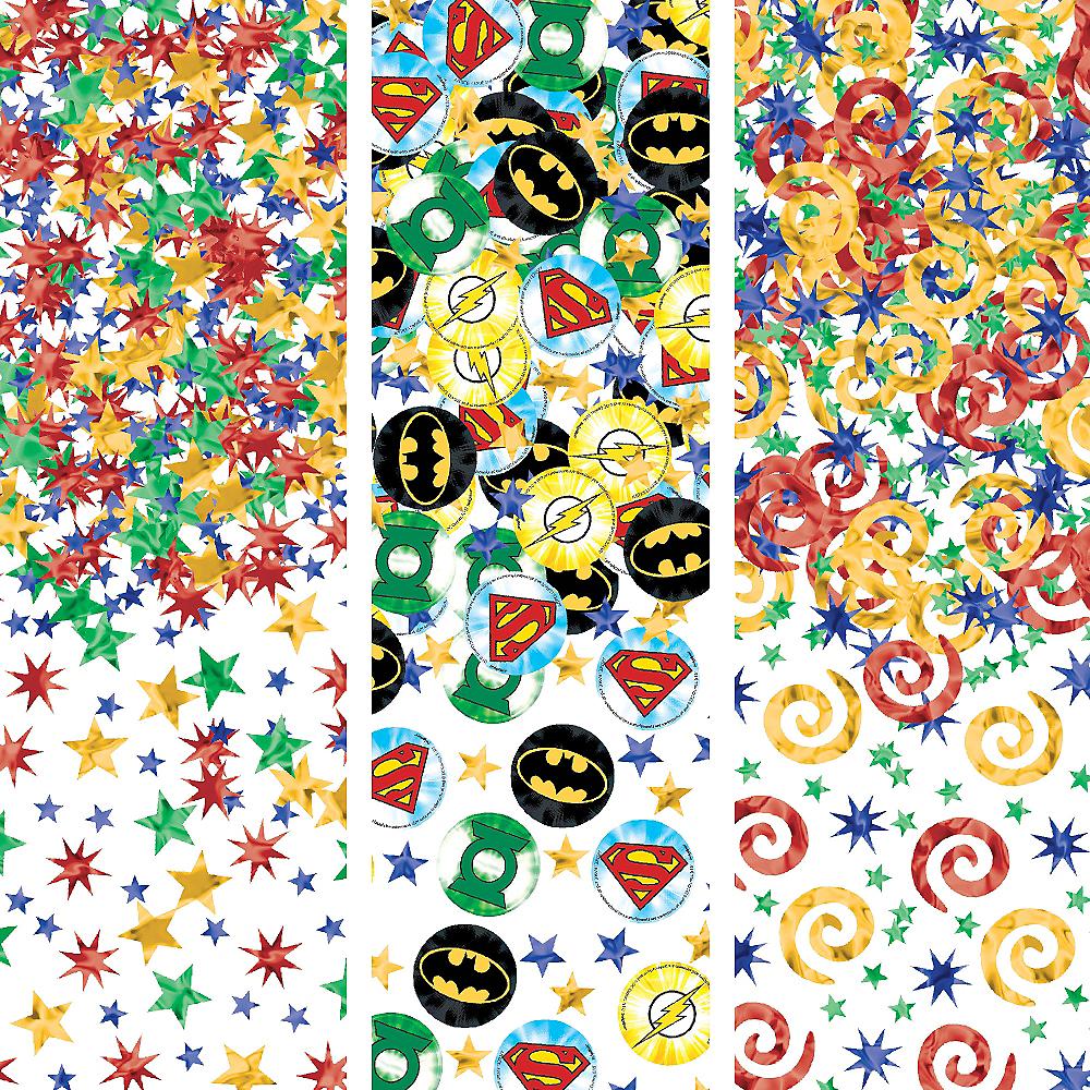 Justice League Birthday Confetti Image #1