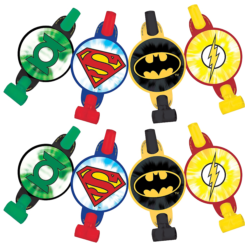 Justice League Blowouts 8ct Image #1