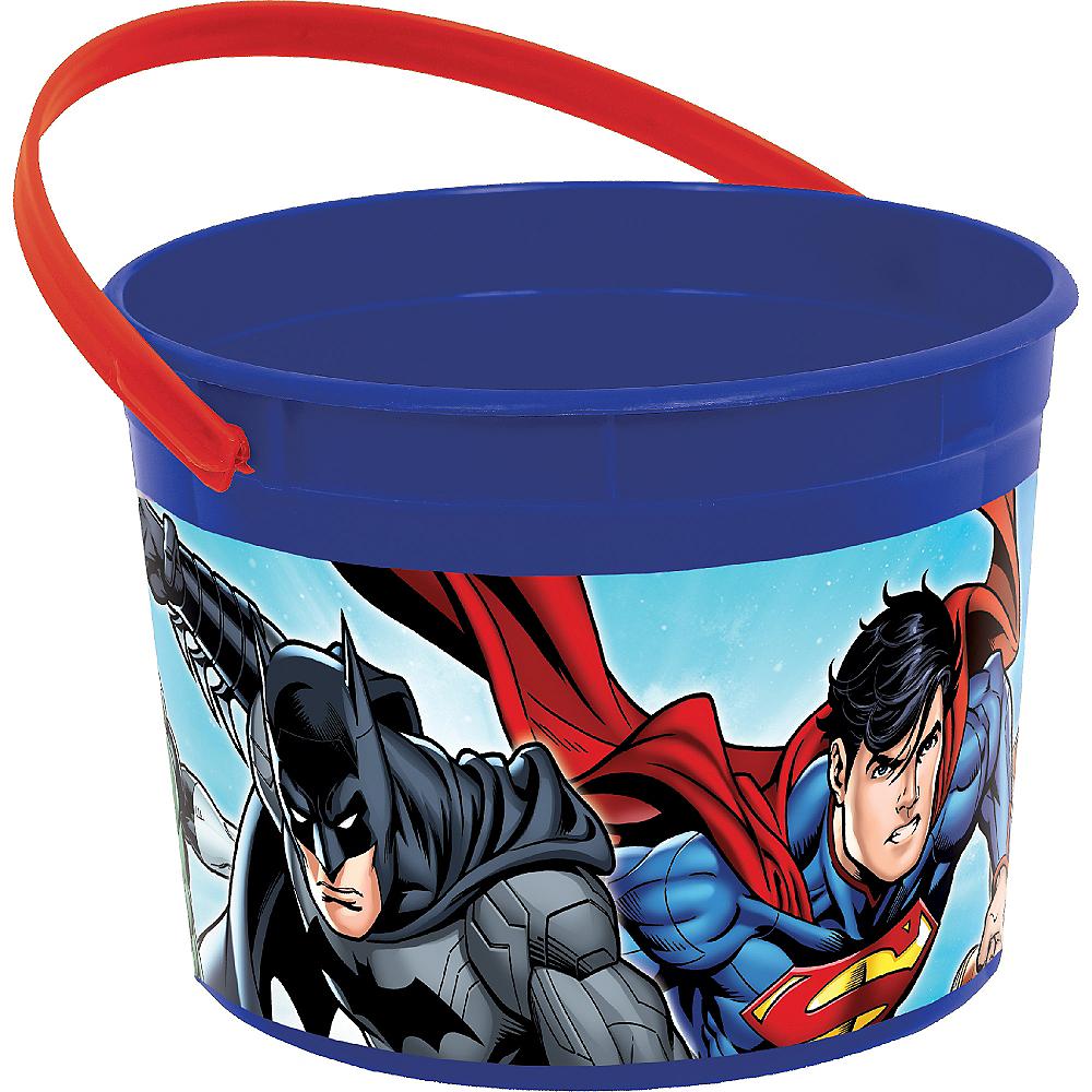 Justice League Favor Container Image #1
