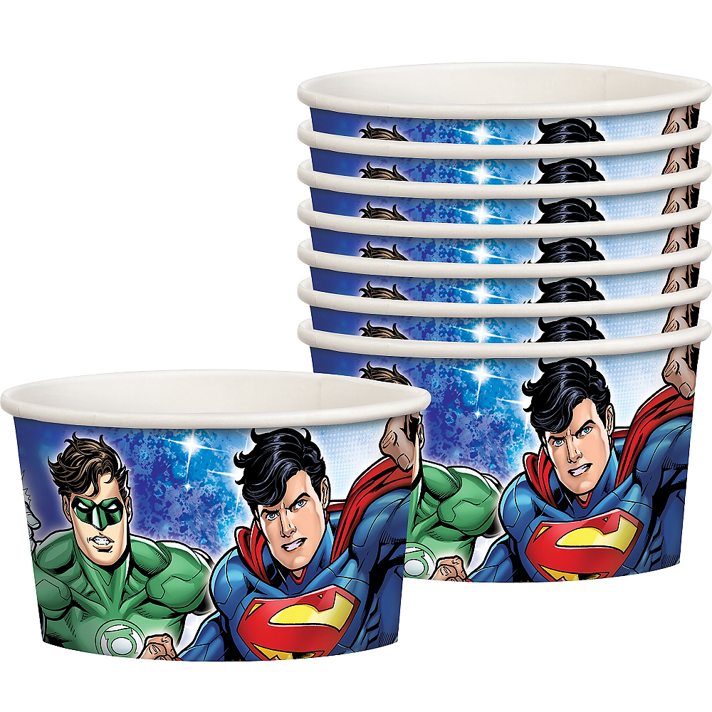 Justice League Treat Cups 8ct Image #1