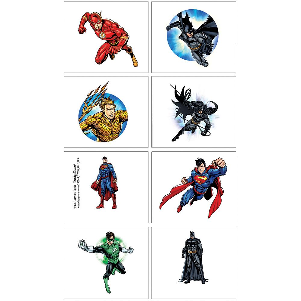 Justice League Tattoos 1 Sheet Image #1