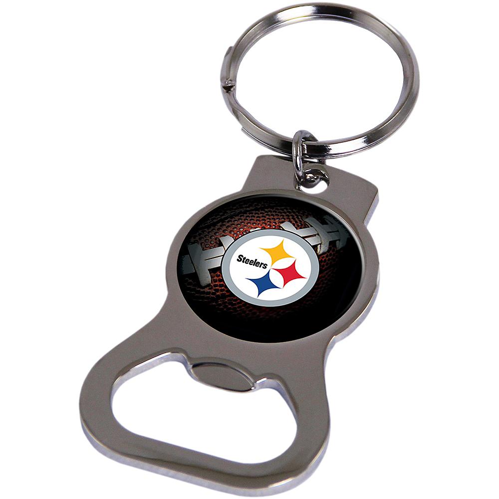Pittsburgh Steelers Bottle Opener Keychain Image #1