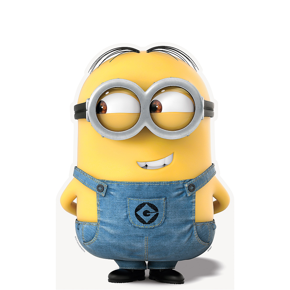 Nav Item for Dave Minion Life Size Cardboard Cutout - Despicable Me Image #1