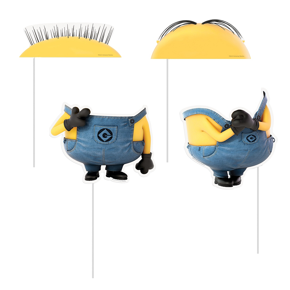 Despicable Me Photo Booth Props 8ct Image #2