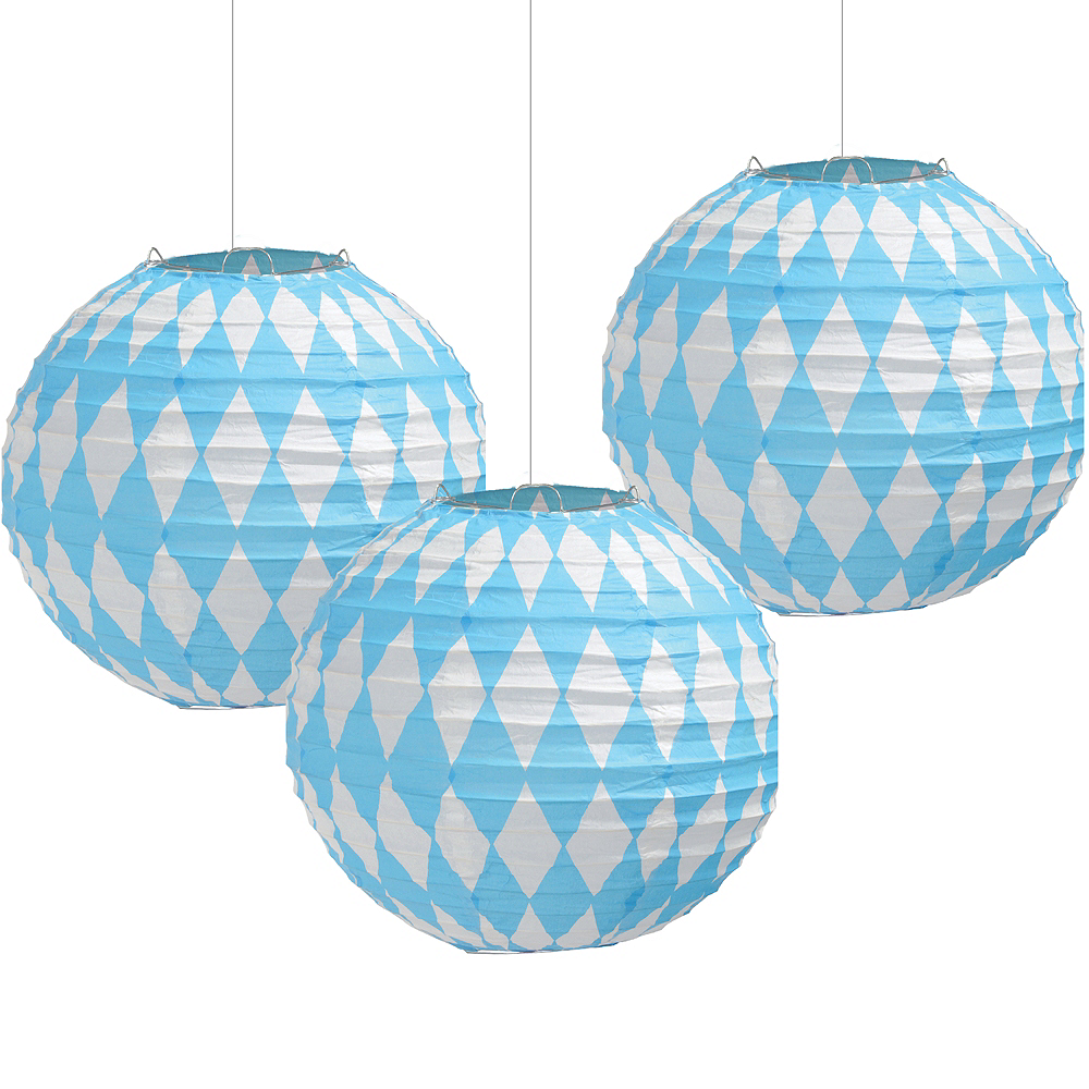 Nav Item for Oktoberfest Paper Lanterns 3ct Image #1