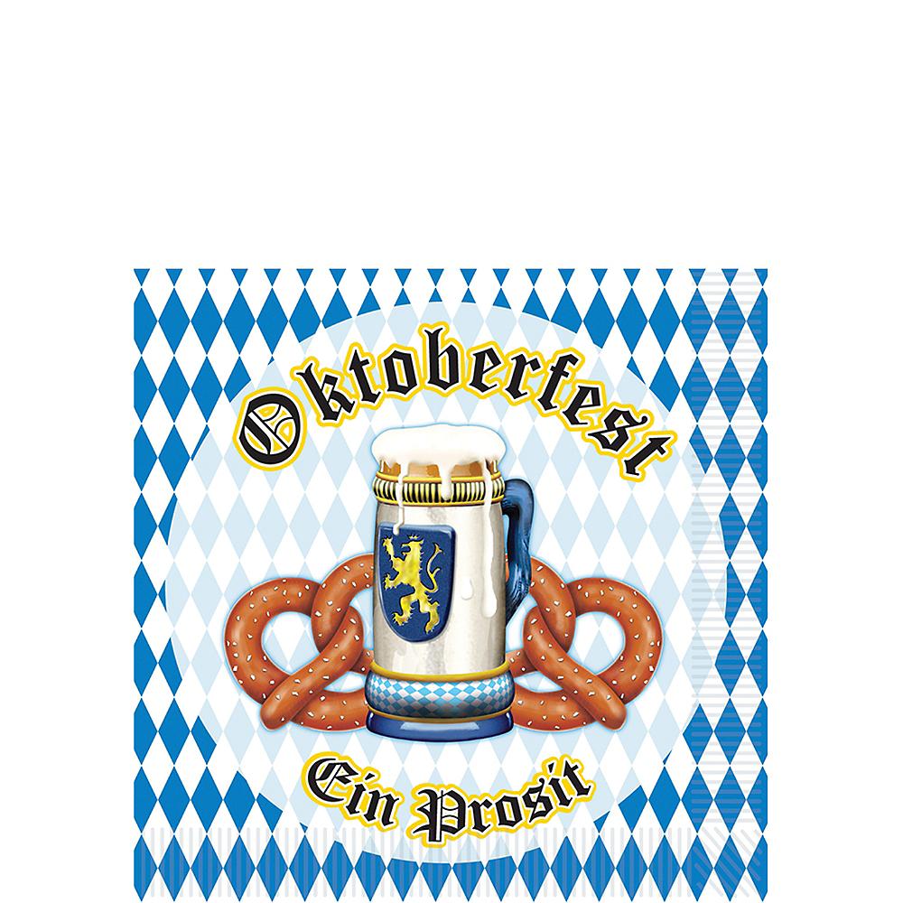 Oktoberfest Beverage Napkins 16ct Image #1