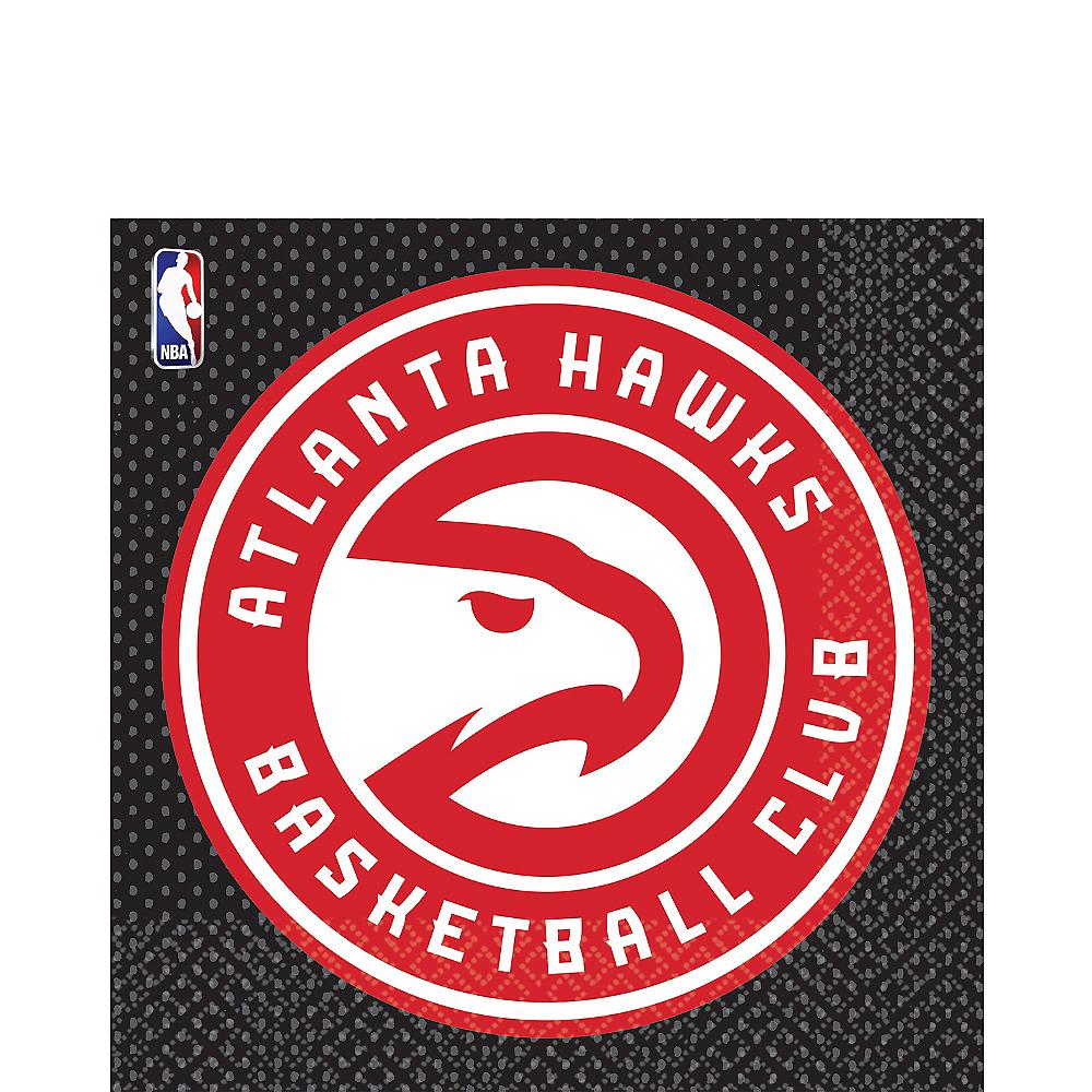 Atlanta Hawks Lunch Napkins 16ct Image #1