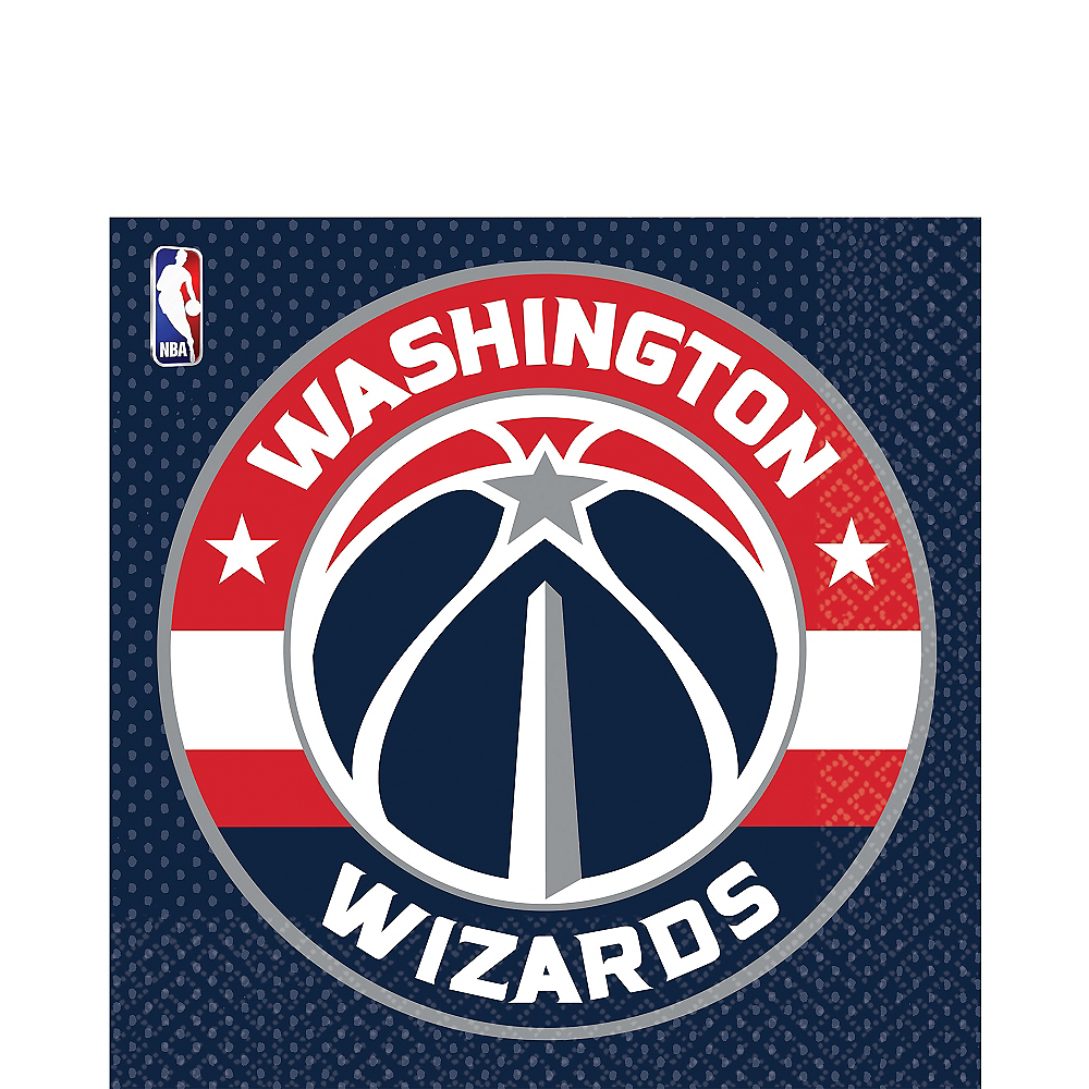 Nav Item for Washington Wizards Lunch Napkins 16ct Image #1