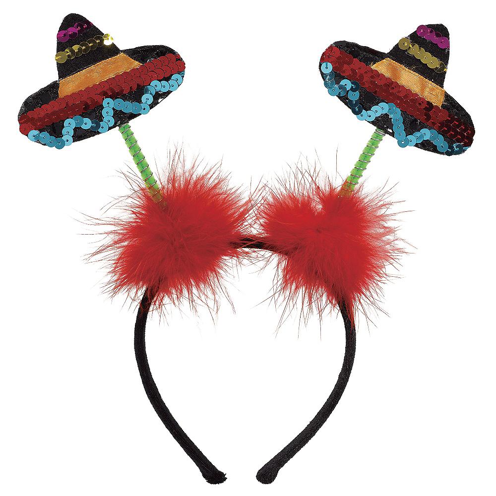 Sequin Sombrero Head Bopper Image #1