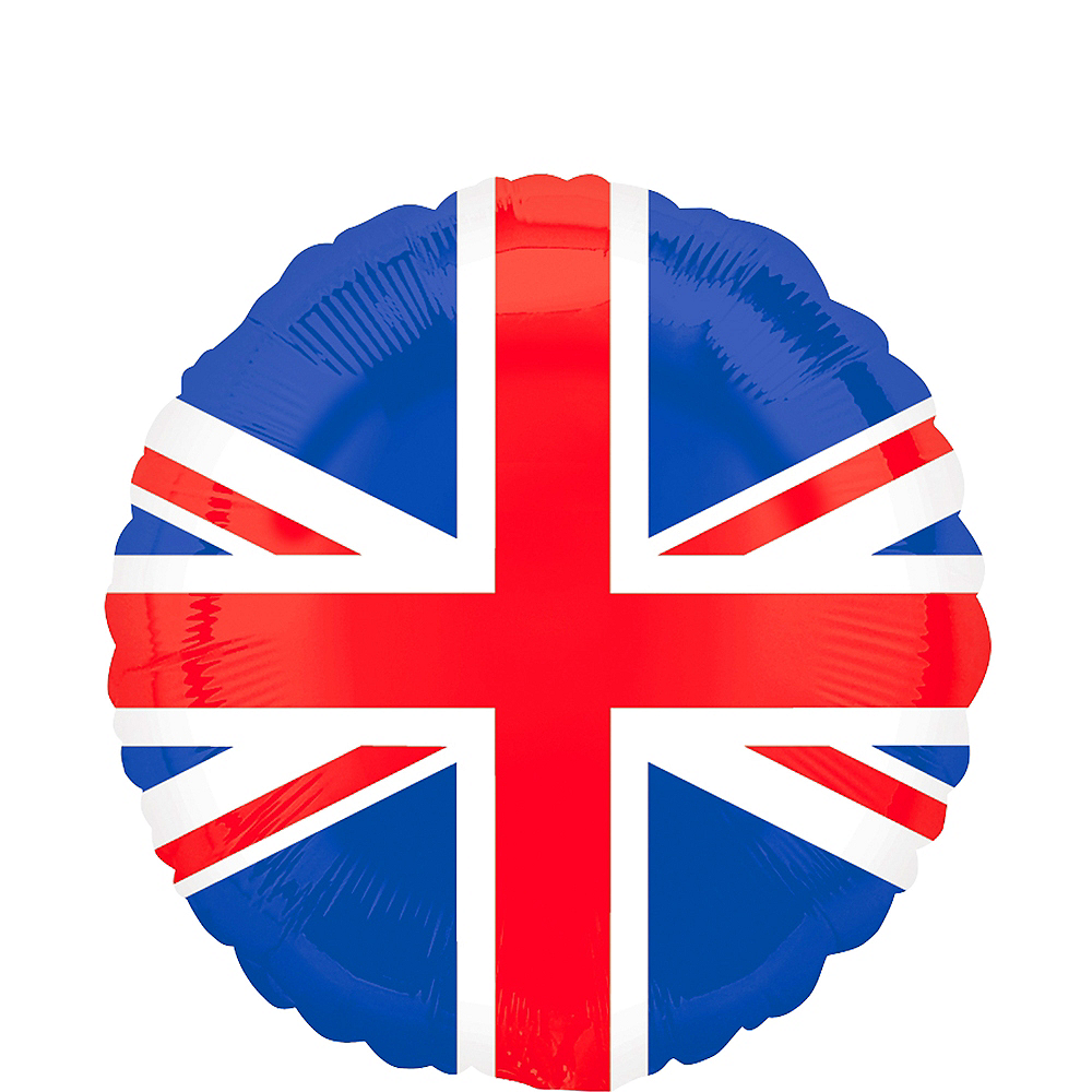 Foil Latex Decorations Great Britain UNION JACK Royal Wedding Party Balloons