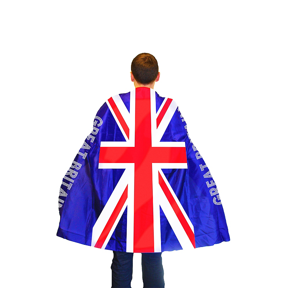 Nav Item for Union Jack Cape - Great Britain Image #1
