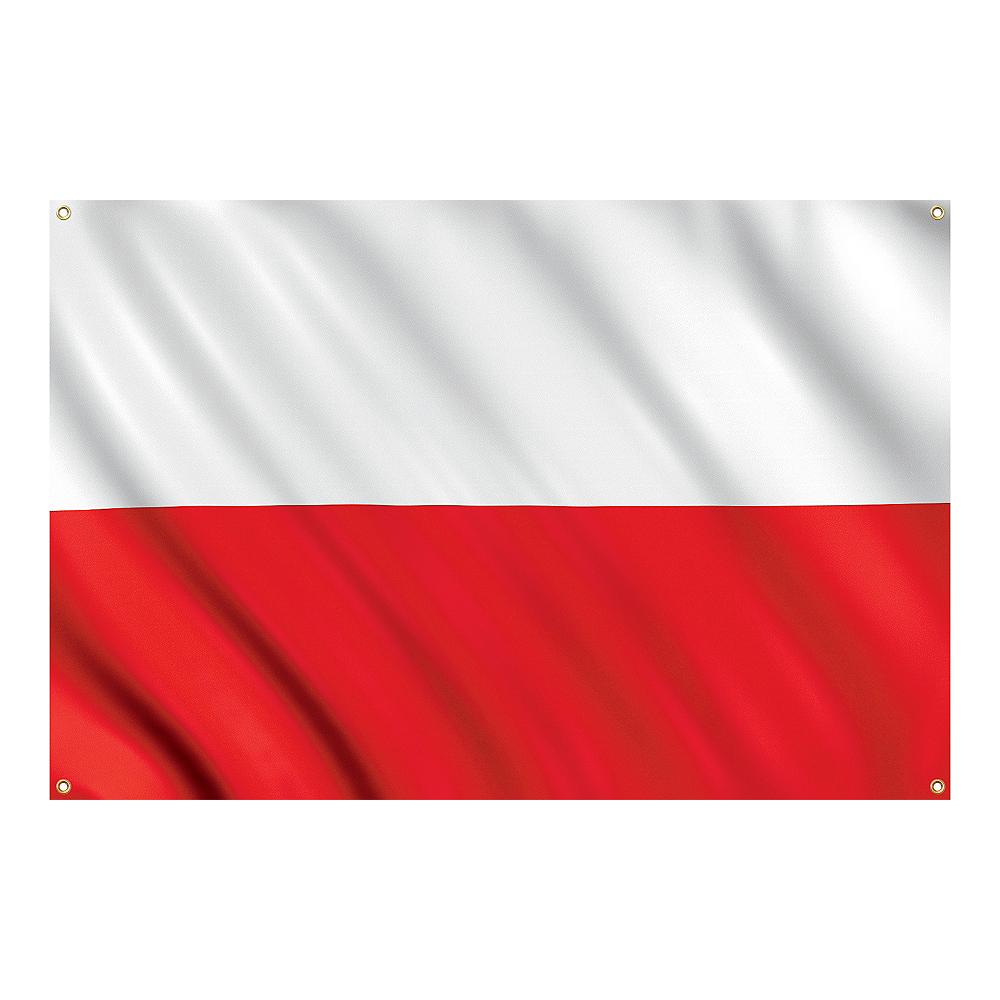 Red & White Flag Image #1