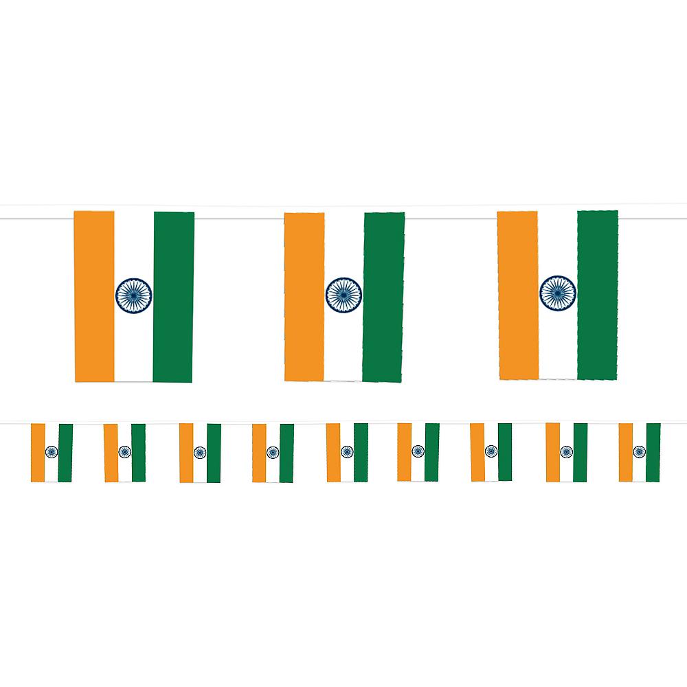 Indian Flag Pennant Banner Image #1