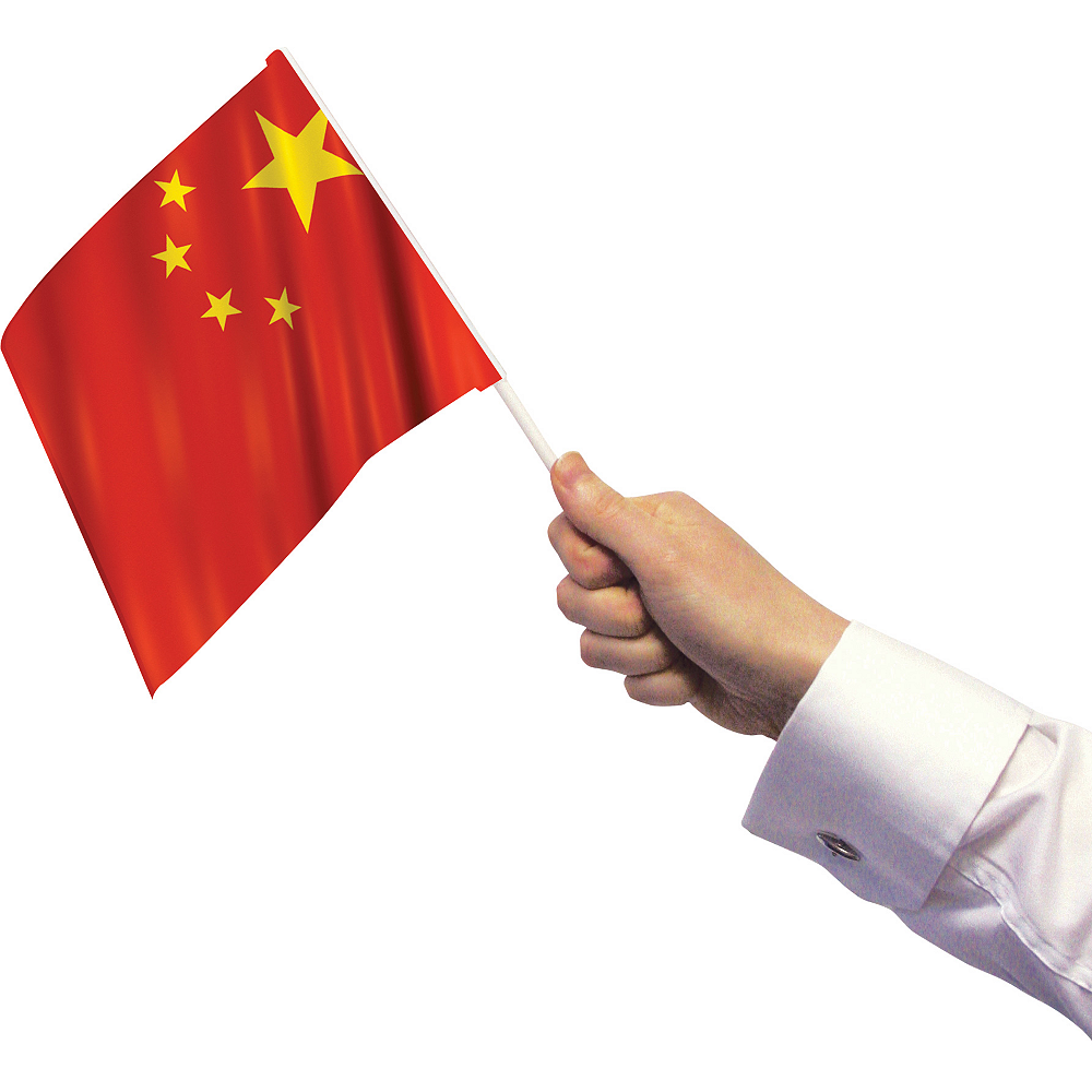 Chinese Flags 12ct Image #2