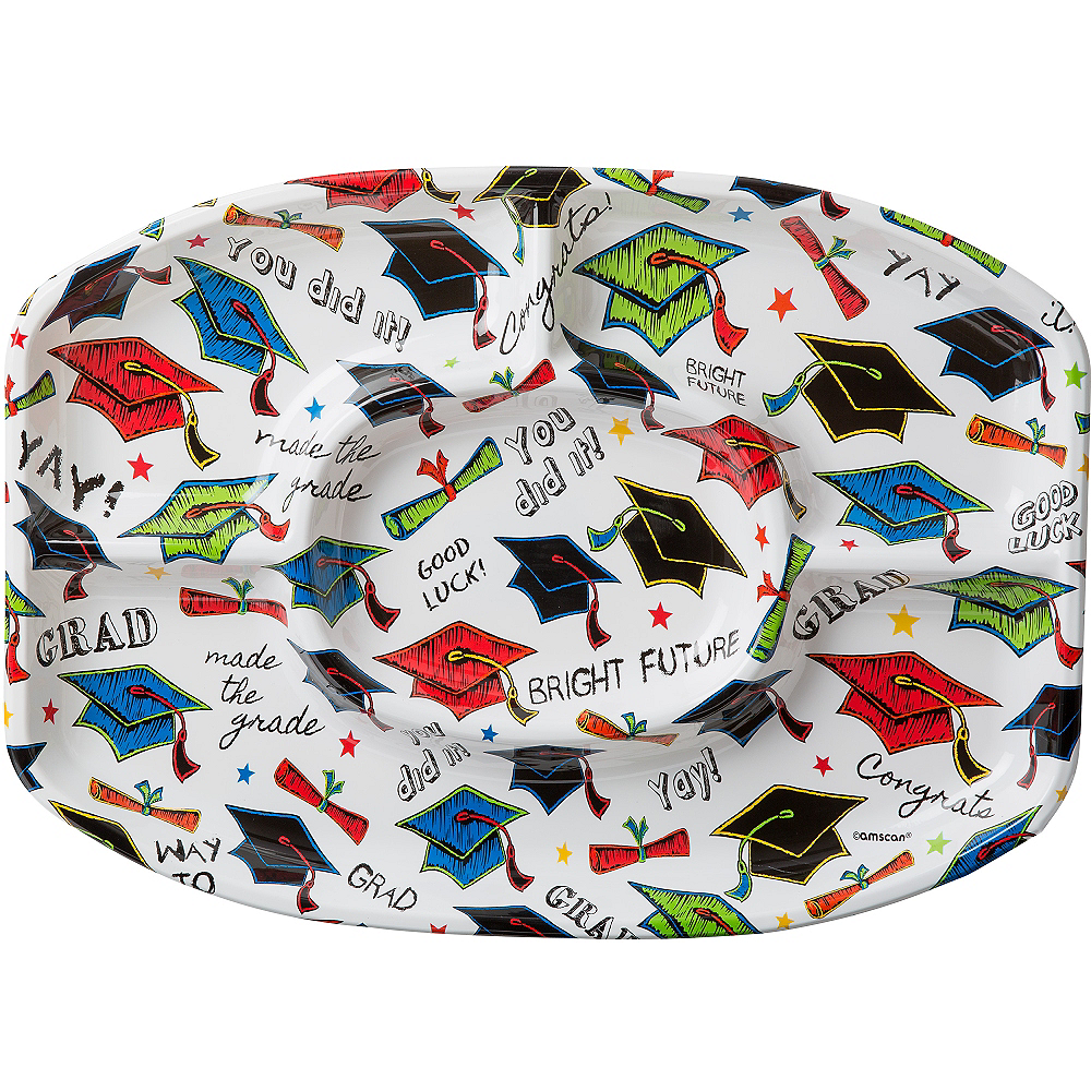 Nav Item for Multicolor Graduation Sectional Platter Image #1