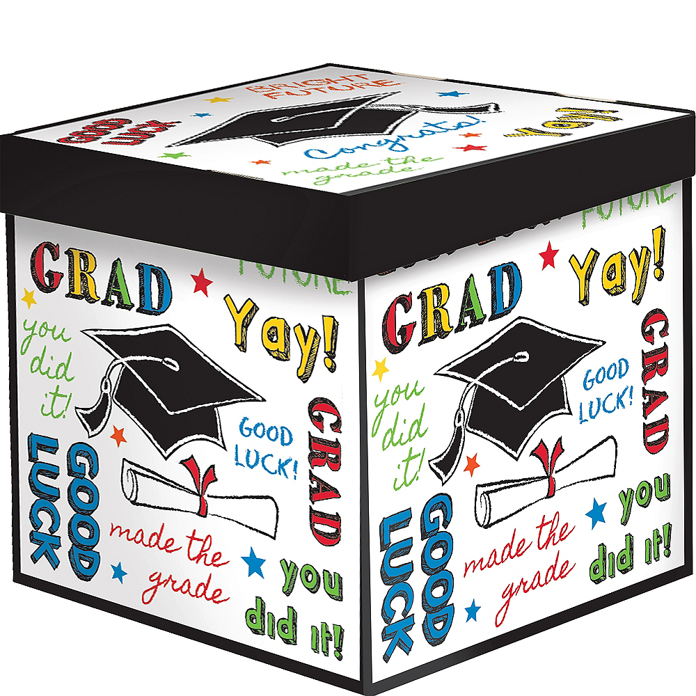 Nav Item for Multicolor Graduation Gift Box Image #1