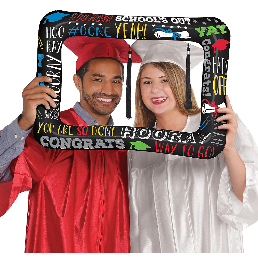 Nav Item for Inflatable Multicolor Graduation Frame Image #1