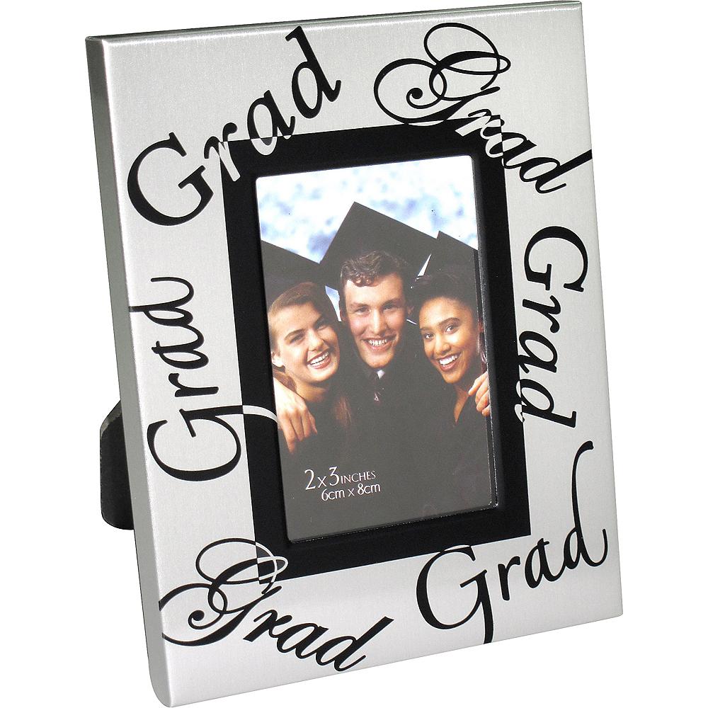Mini Silver Graduation Photo Frame Image #2