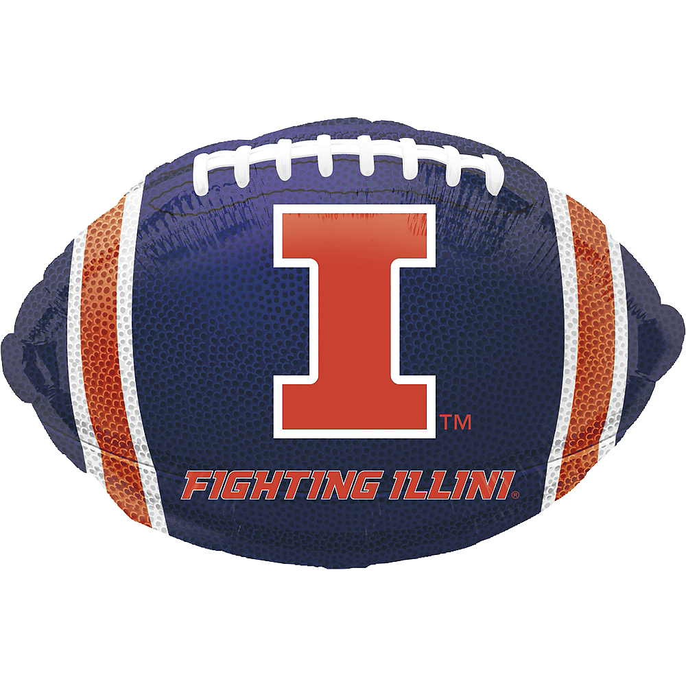 Illinois Fighting Illini Balloon - Football Image #1