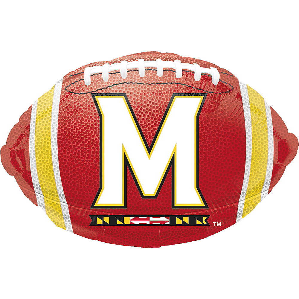 Maryland Terrapins Balloon - Football Image #1