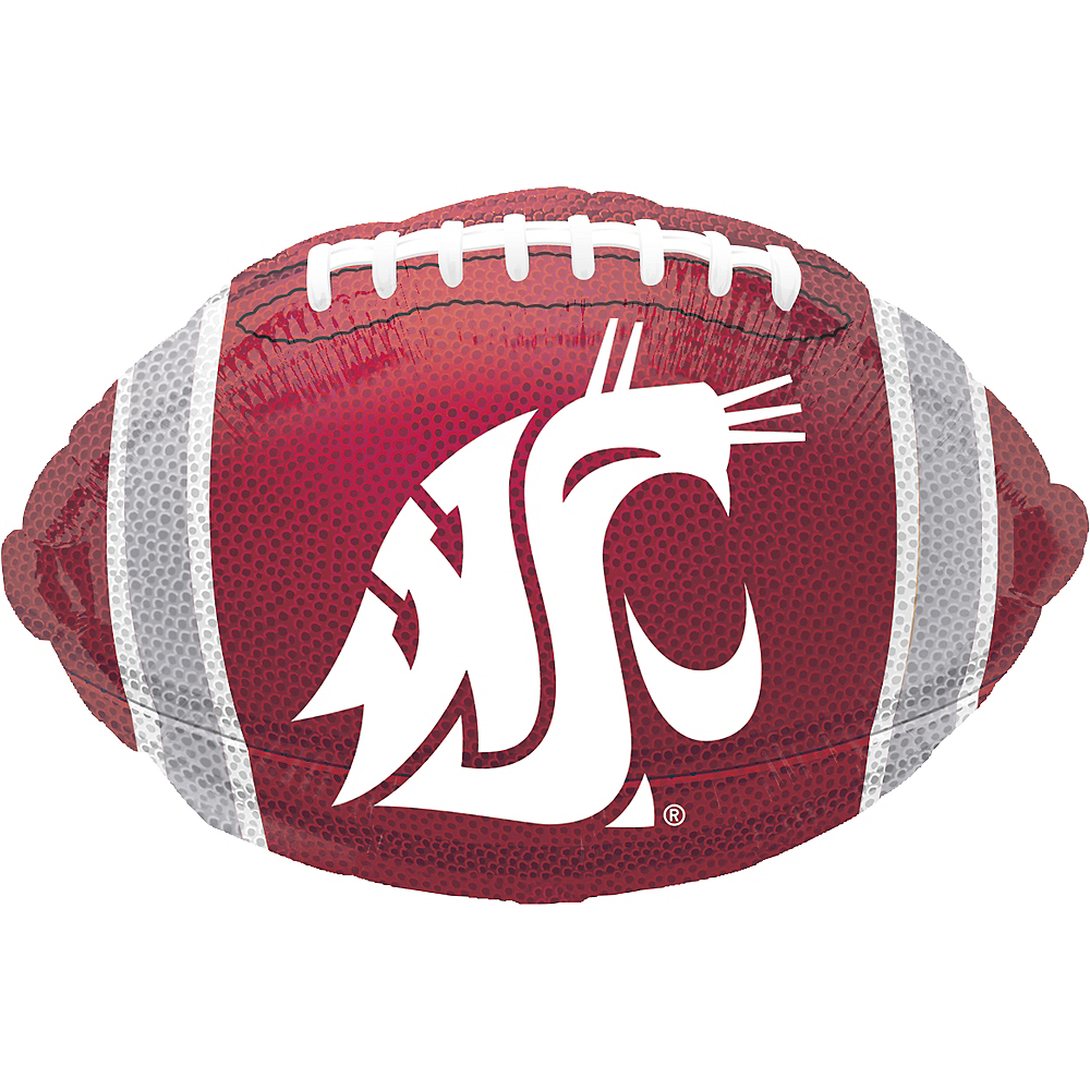Washington State Cougars Balloon - Football Image #1