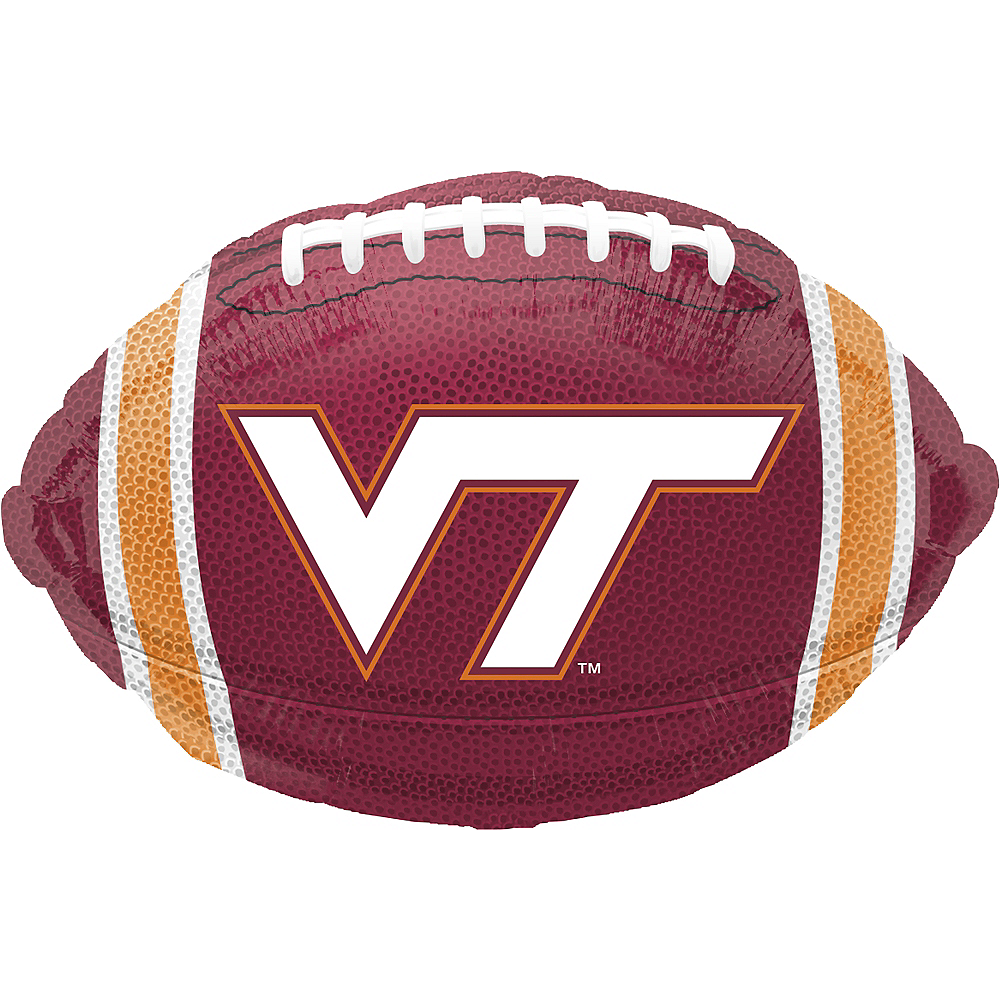 Nav Item for Virginia Tech Hokies Balloon - Football Image #1
