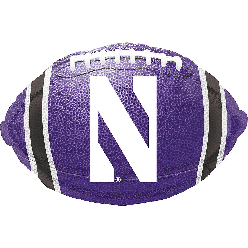 Northwestern Wildcats Balloon - Football Image #1