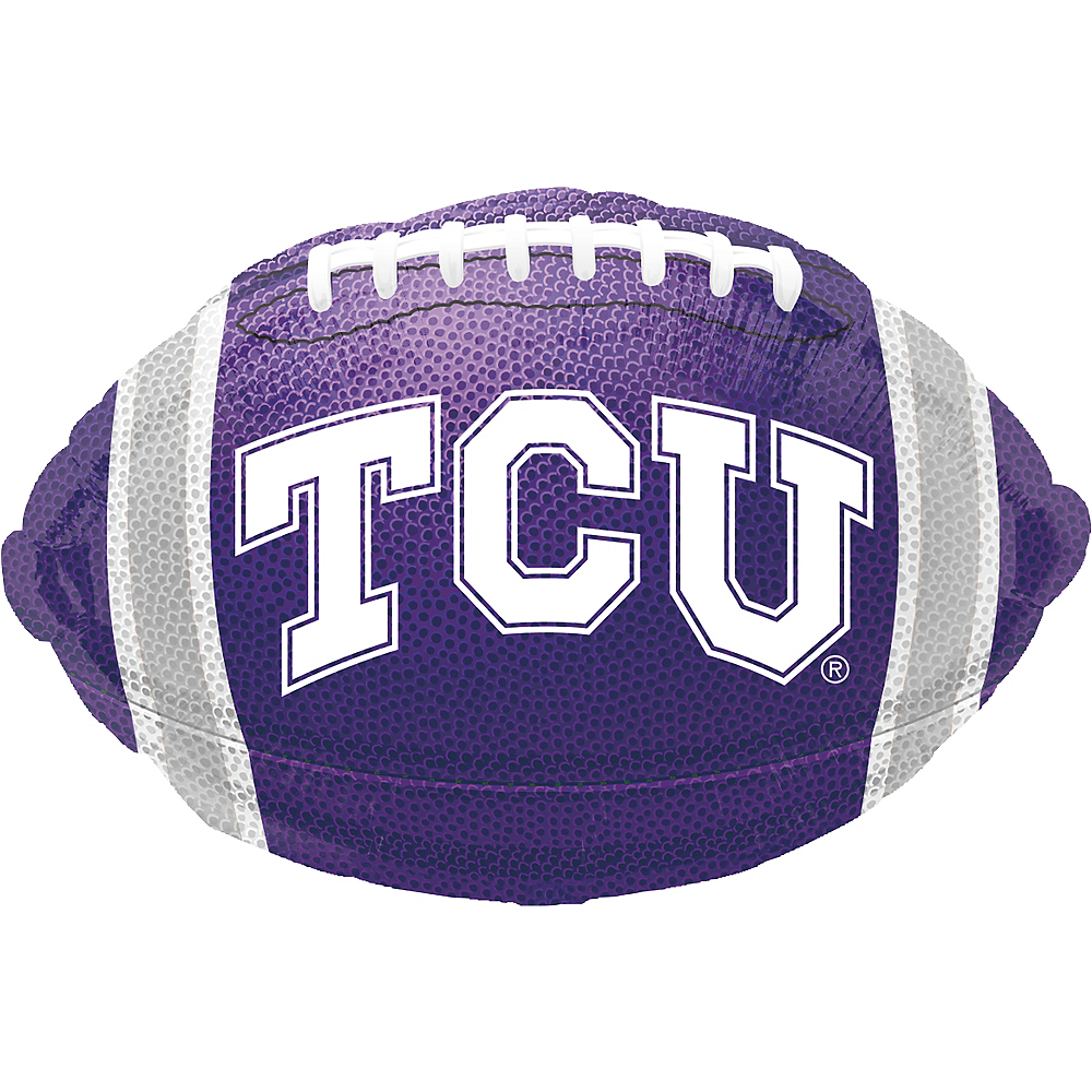 Nav Item for TCU Horned Frogs Balloon - Football Image #1