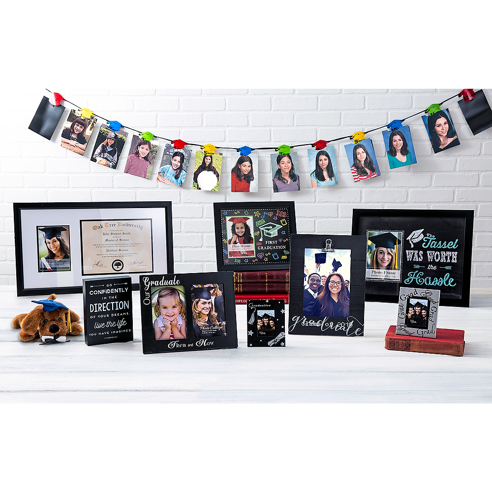 Party City Graduation Picture Frames: First Graduation Black Picture Frame 11 1/2in X 10in