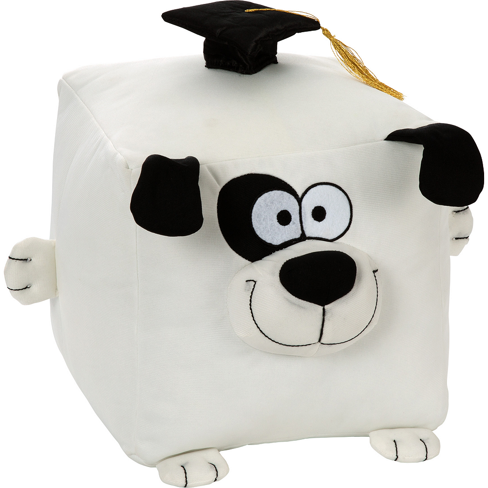 Cube Graduation Autograph Dog Image #1