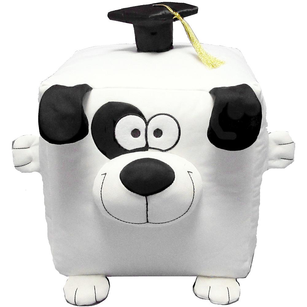 Cube Graduation Autograph Dog Image #2