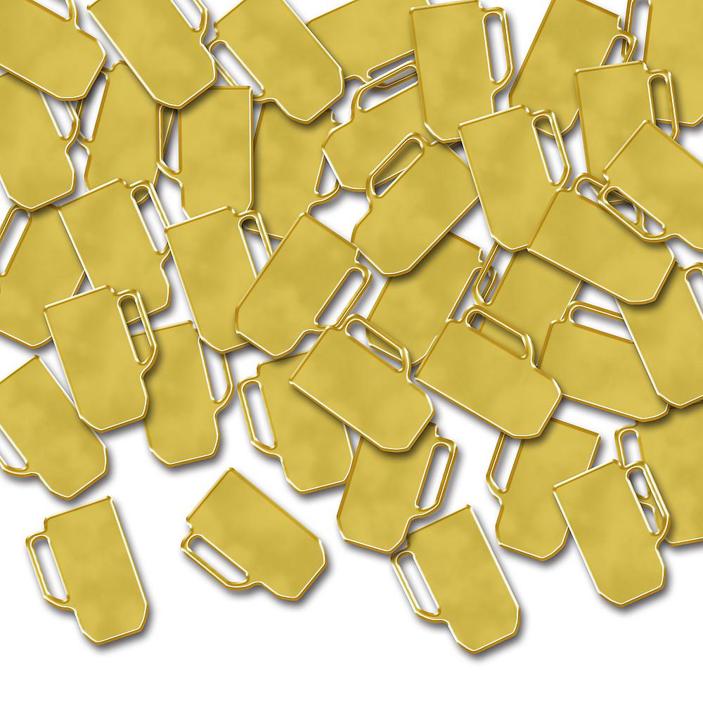 Gold Beer Mug Confetti Image #1