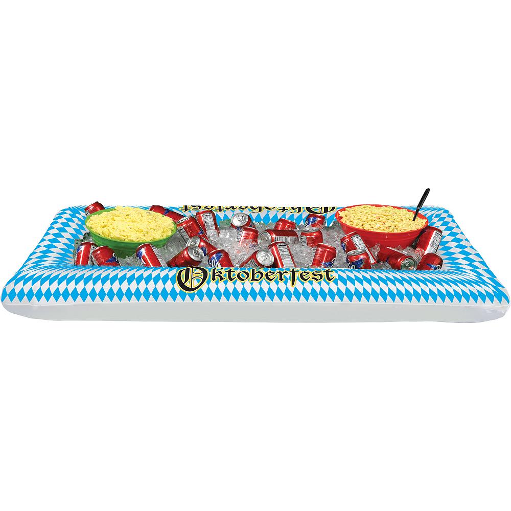 Inflatable Oktoberfest Buffet Cooler Image #1