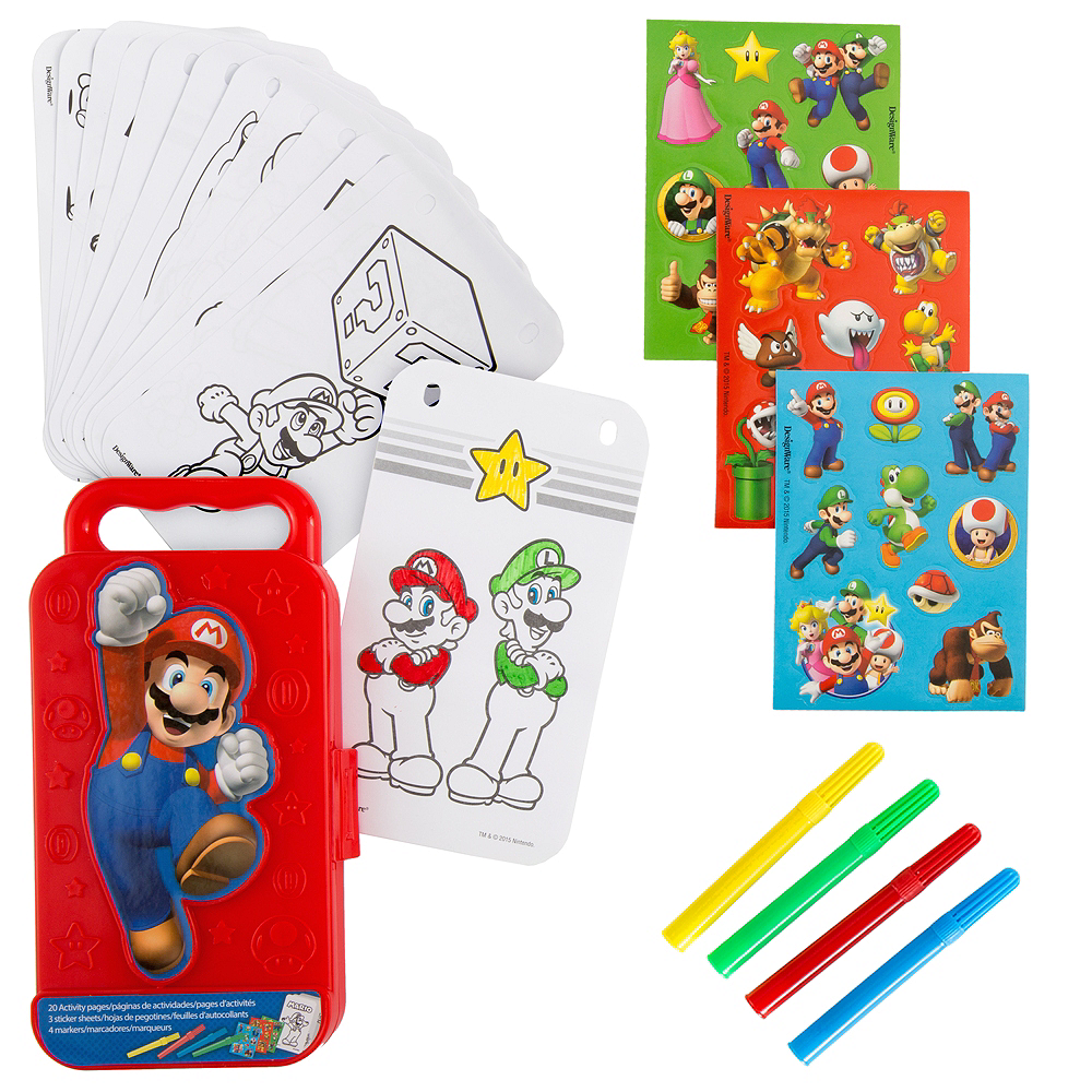 Super Mario Sticker Activity Box Image #1