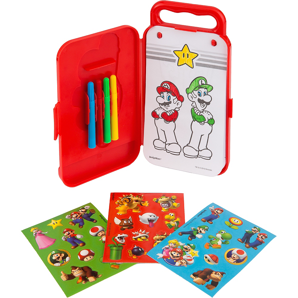 Super Mario Sticker Activity Box Image #2