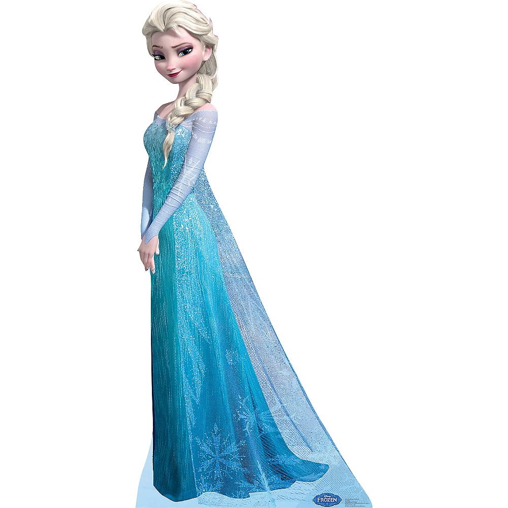 Elsa Life-Size Cardboard Cutout - Frozen | Party City