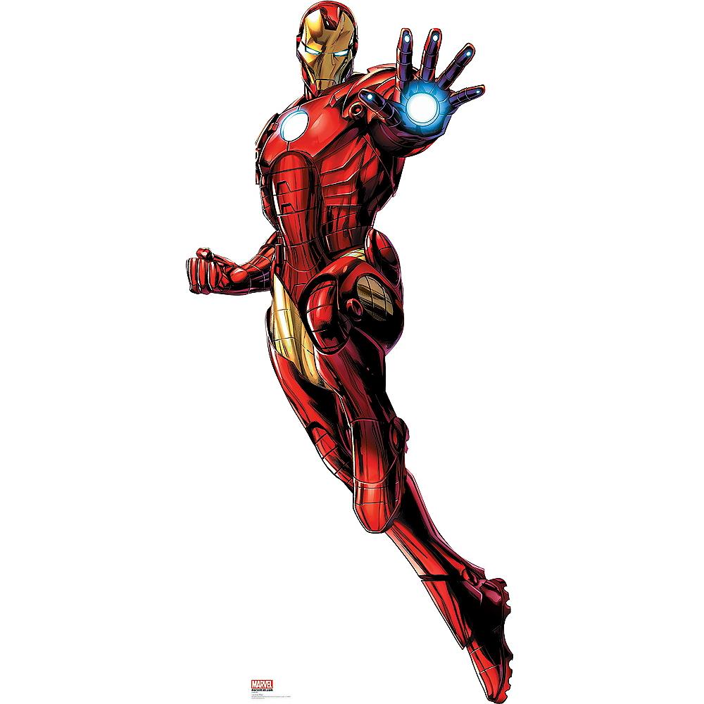 Iron Man Life-Size Cardboard Cutout - Avengers Image #1