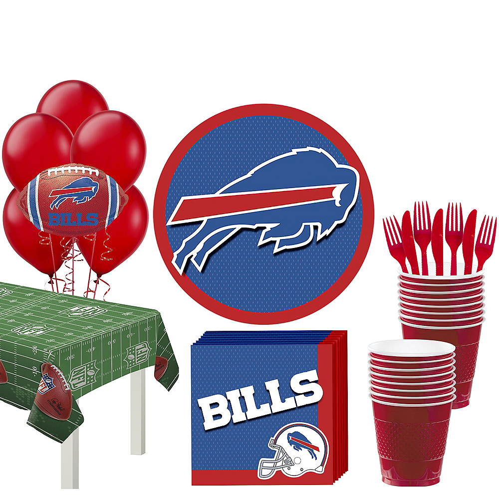Super Buffalo Bills Party Kit for 18 Guests Image #1