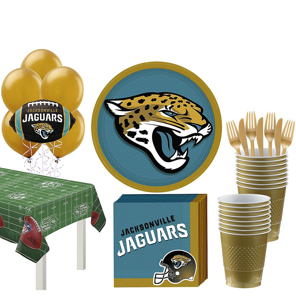 Super Jacksonville Jaguars Party Kit for 18 Guests Image #1