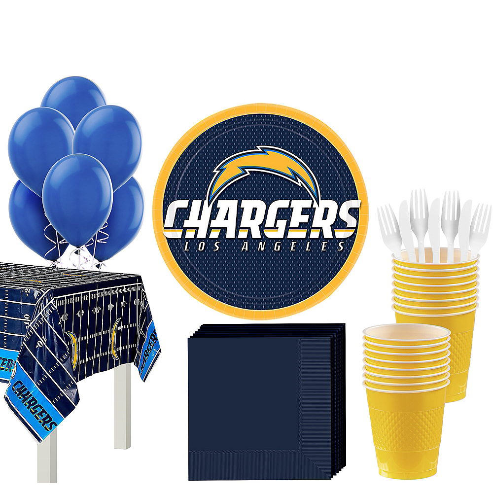 Super Los Angeles Chargers Party Kit for 18 Guests Image #1