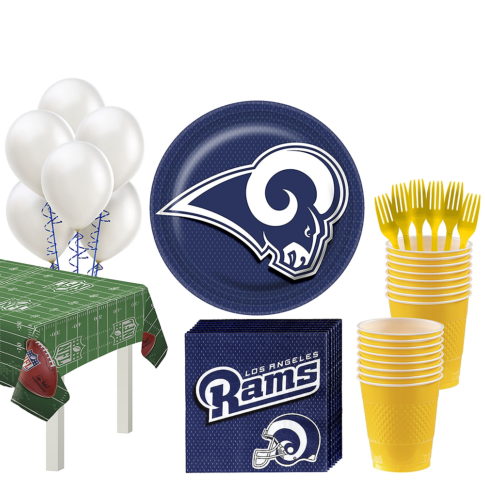 Los Angeles Rams Super Party Kit for 18 Guests Image #1
