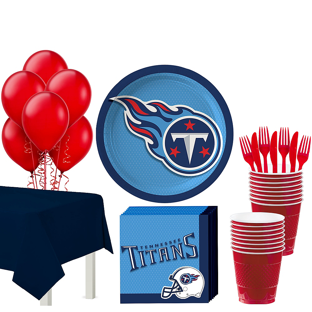 Nav Item for Super Tennessee Titans Party Kit for 18 Guests Image #1