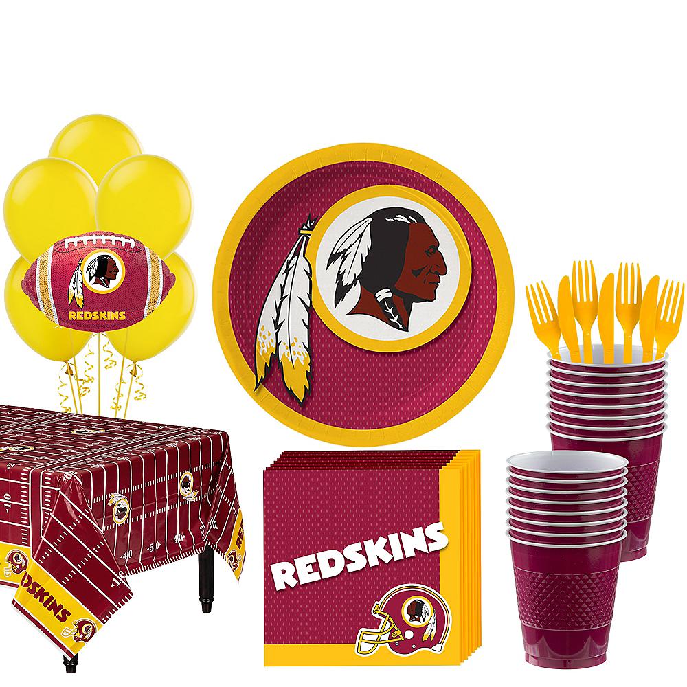Super Washington Redskins Party Kit for 18 Guests Image #1