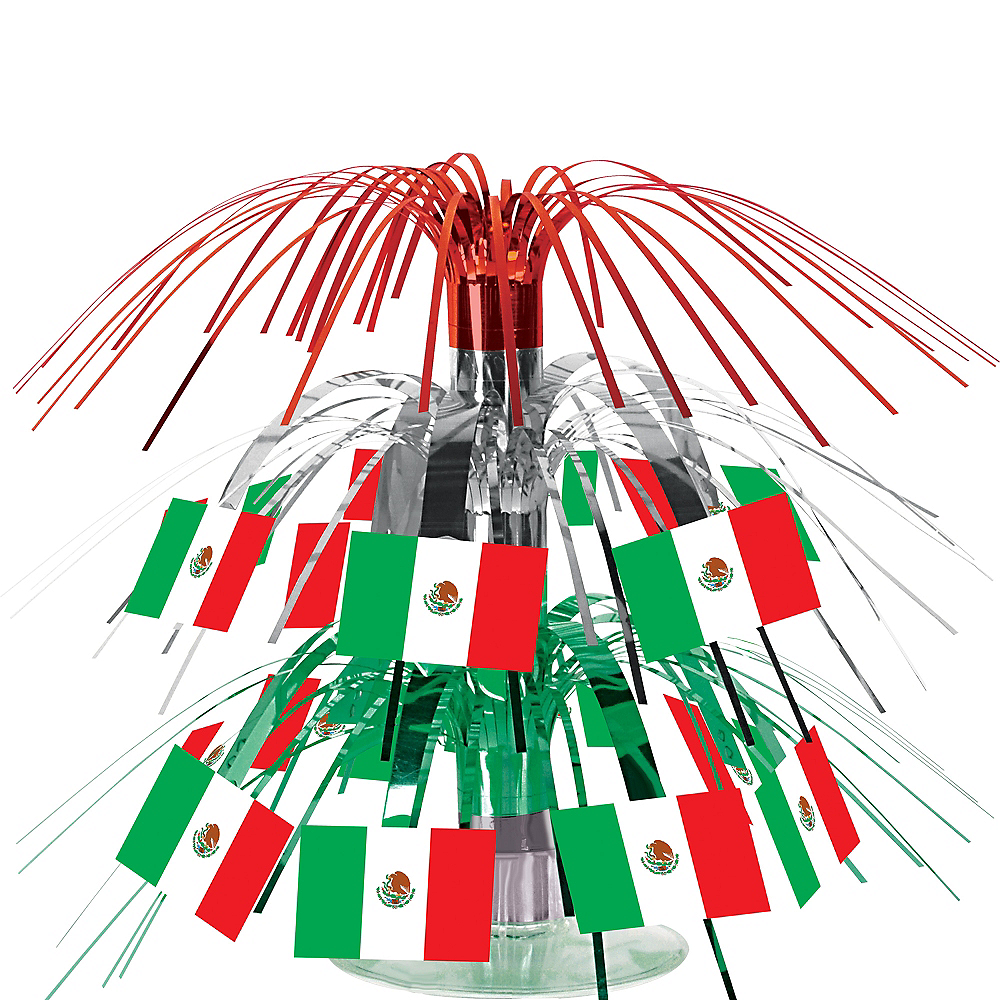 Mexican Flag Mini Cascade Centerpiece Image #1