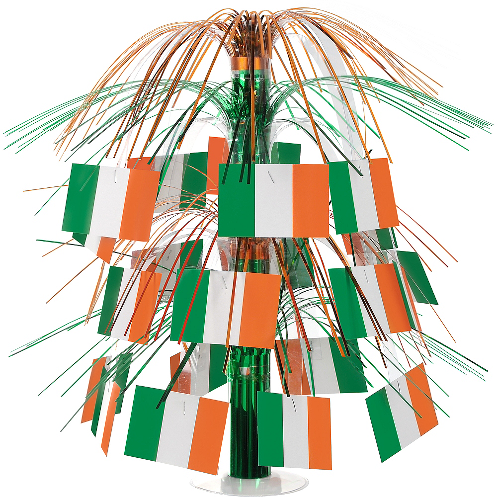 Irish Flag Cascade Centerpiece Image #1
