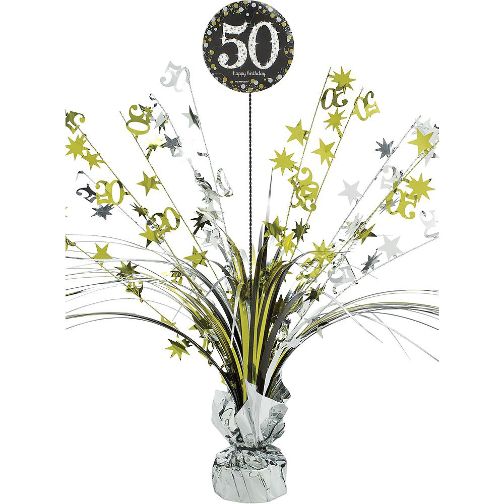 Birthday Sparkling Celebration 40 Spray Centerpiece