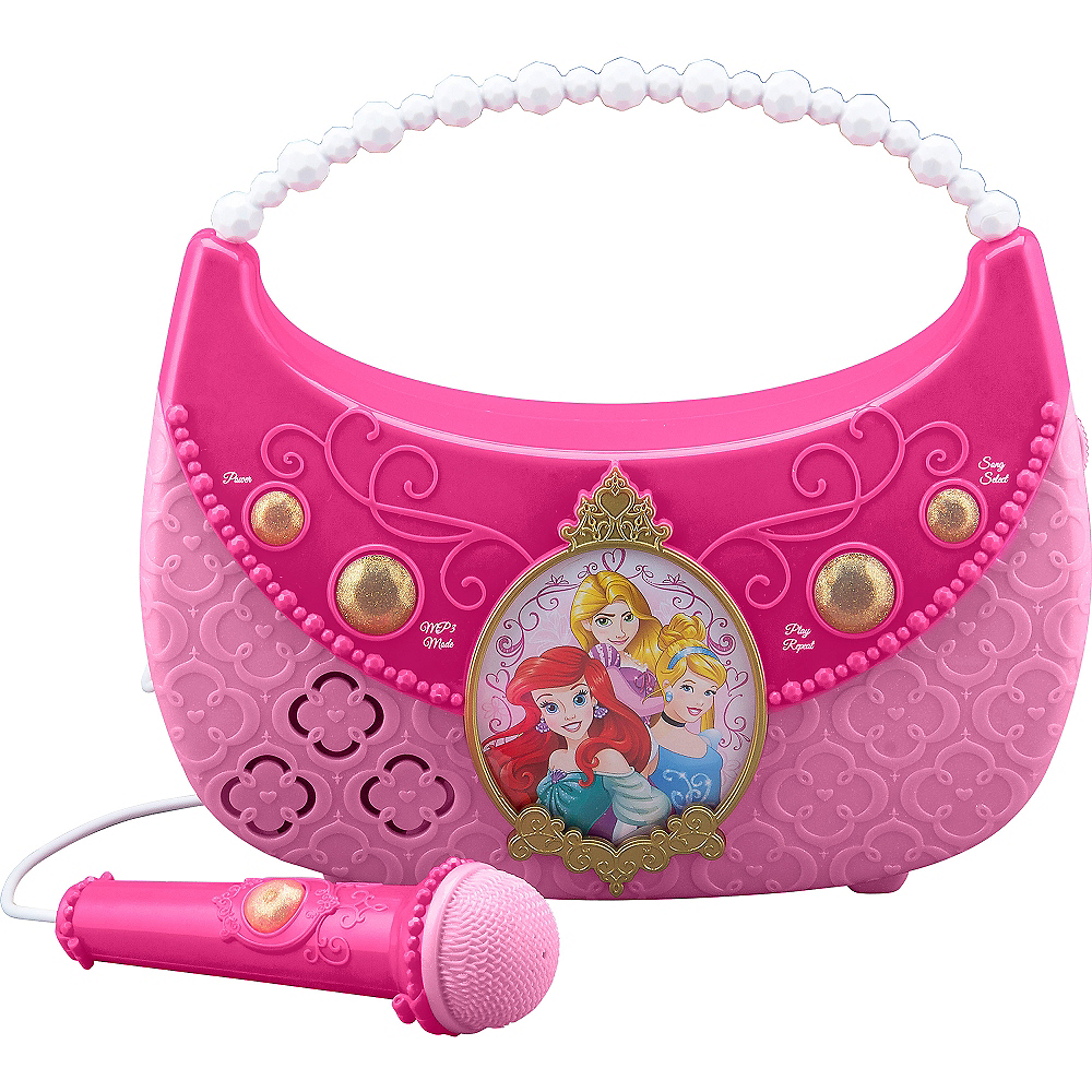 Disney Princess Sing-A-Long Boombox Image #1