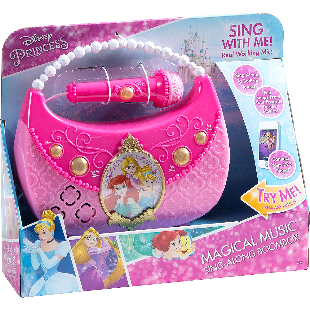 Disney Princess Sing-A-Long Boombox Image #2