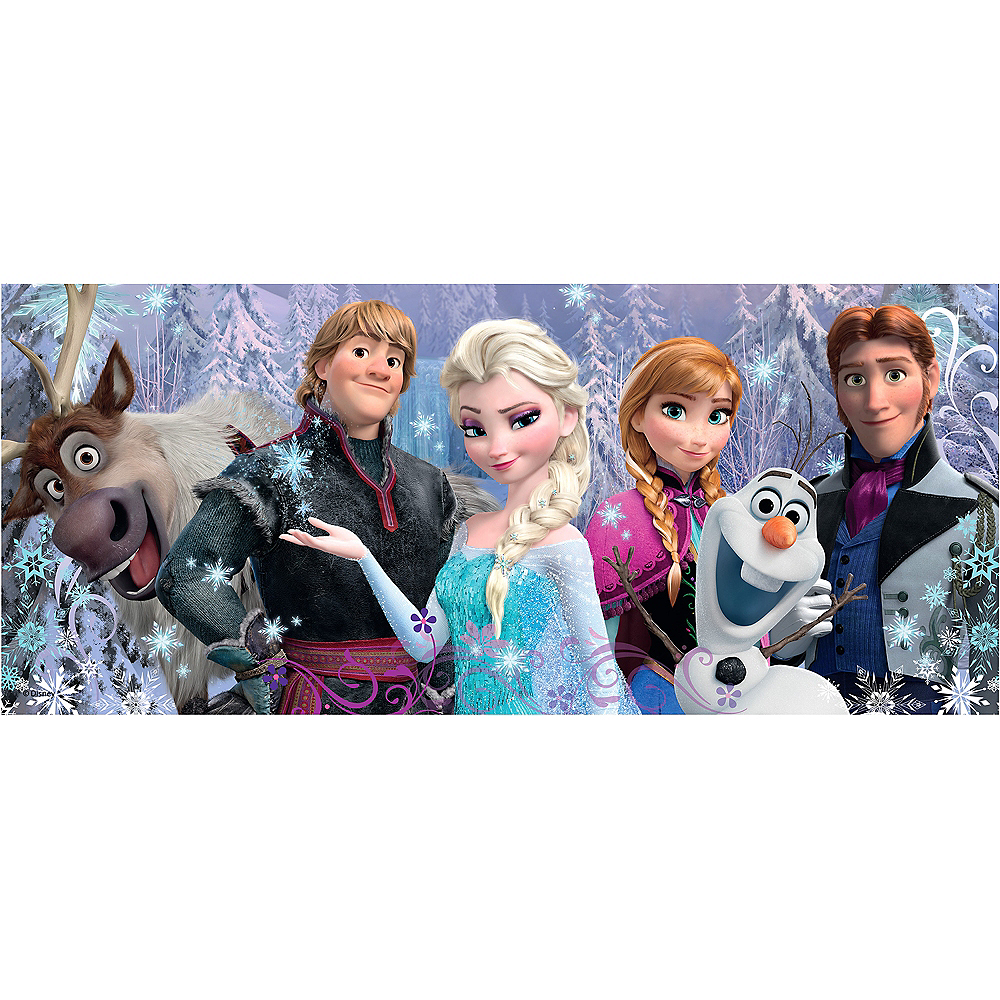 Nav Item for Frozen Friends 200pc Panorama Puzzle Image #1
