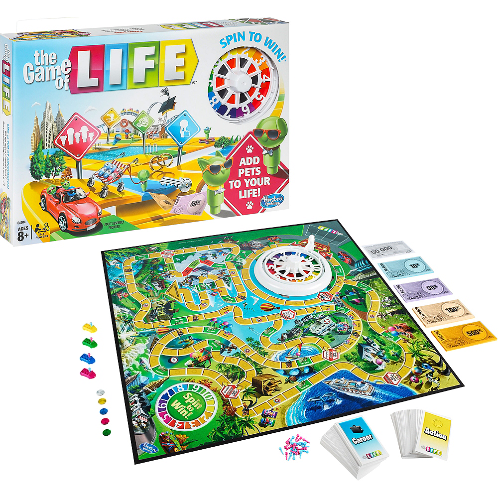 The Game of Life Board Game Image #1